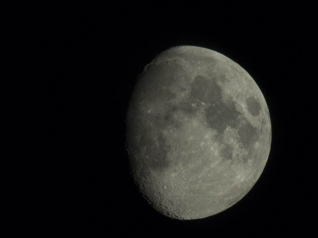 Mond am 27. August 2012