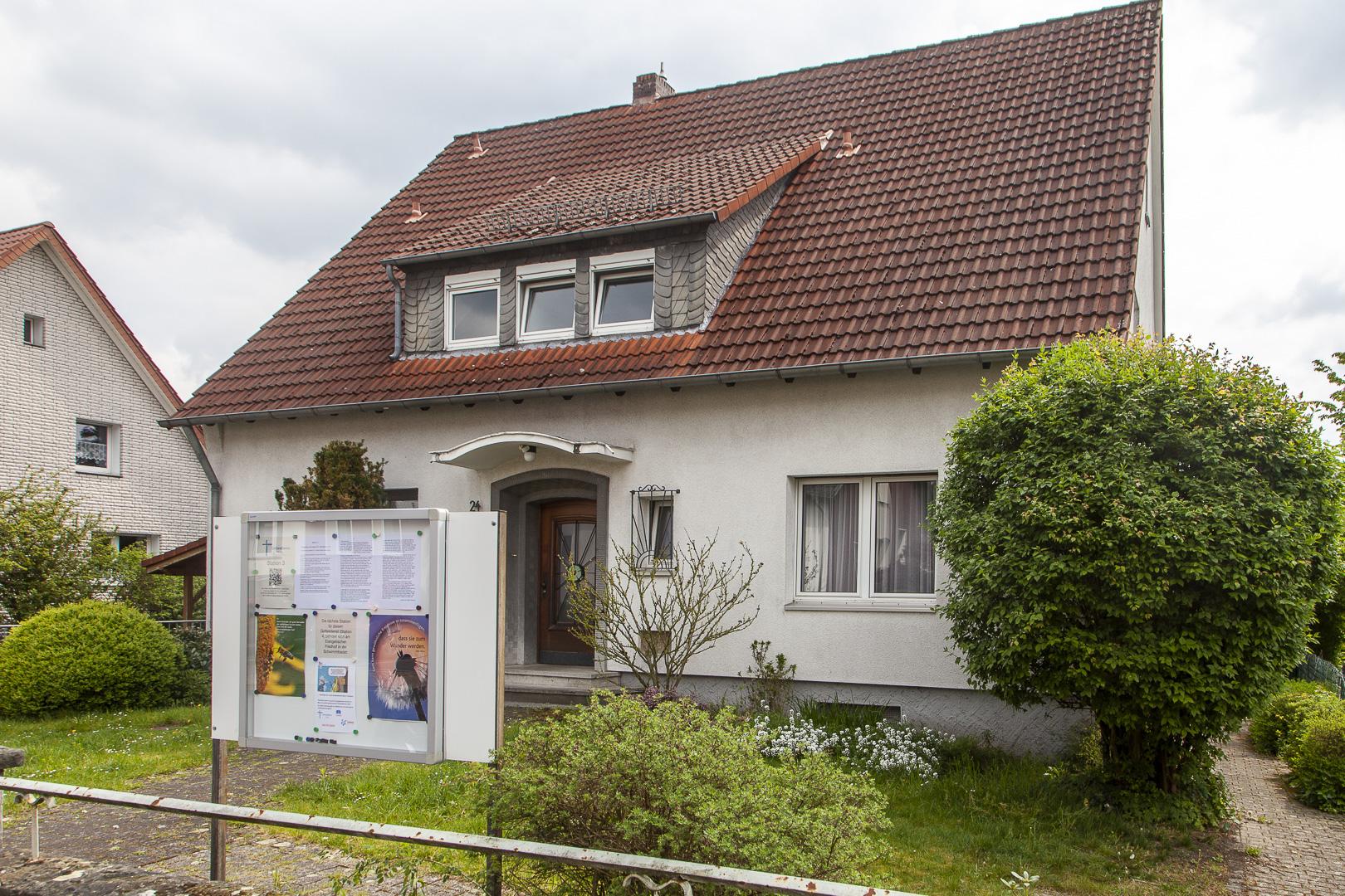 Pfarrhaus in der Herrmannstraße